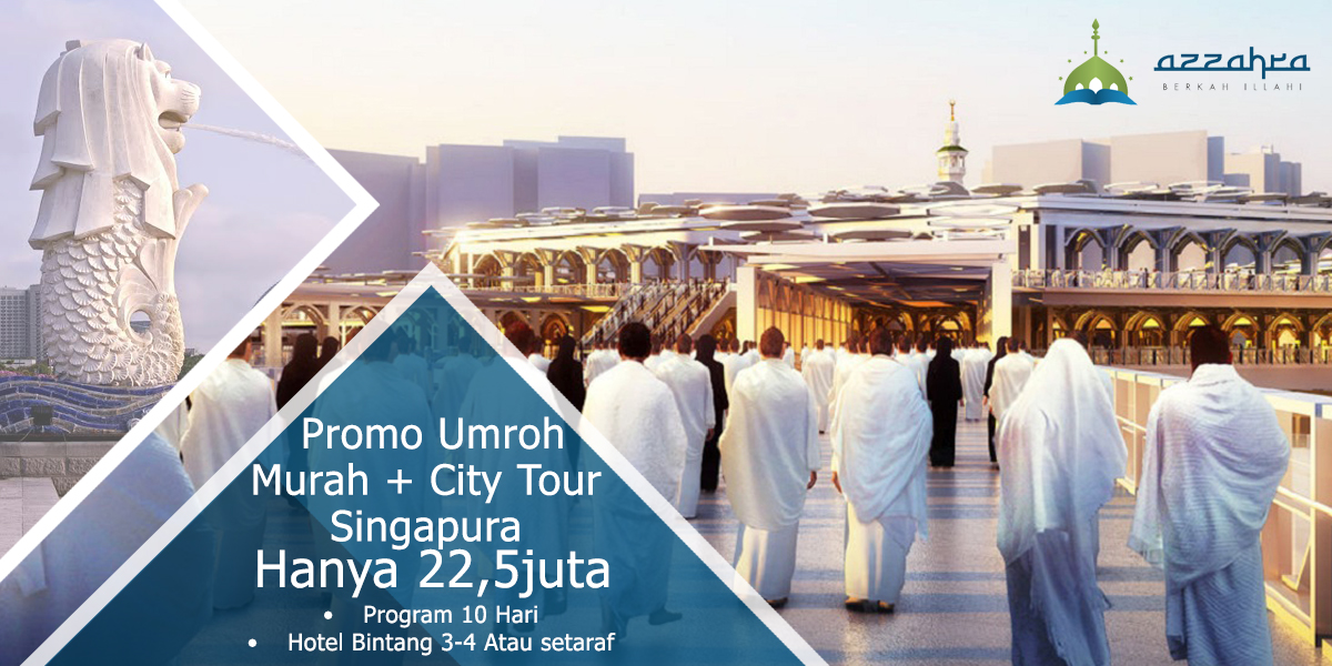 Umroh Plus City Tour Singapura
